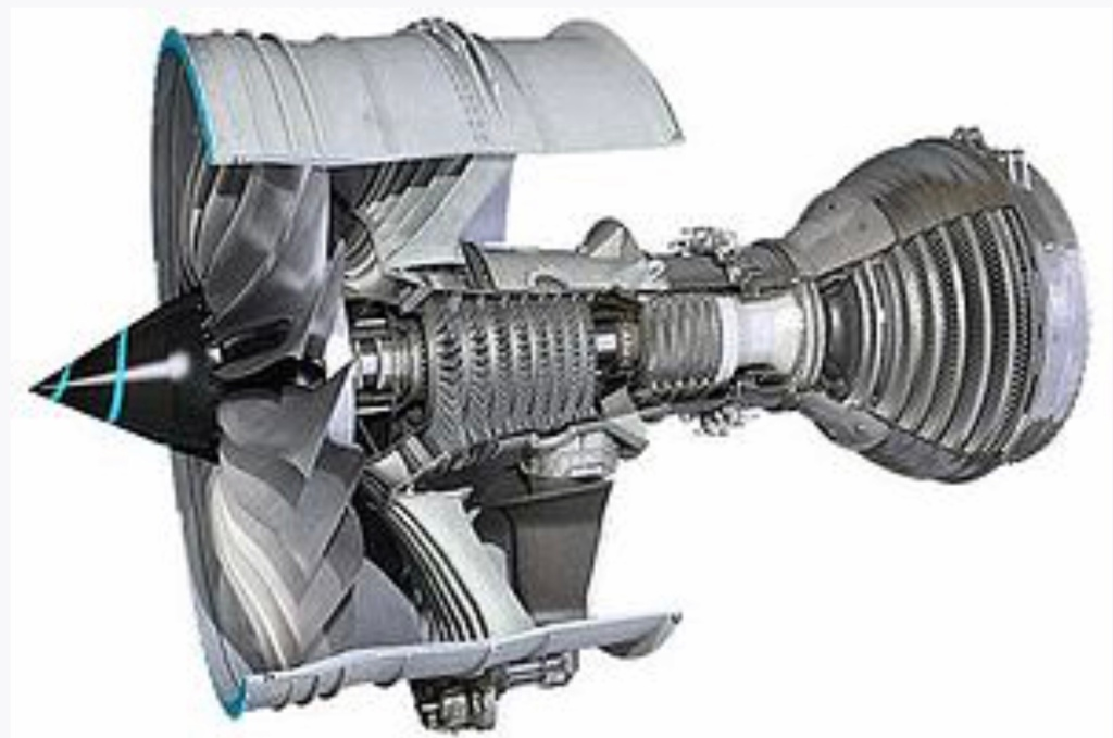 Dubbelströmsmotor Rolls Royce Trent 7000