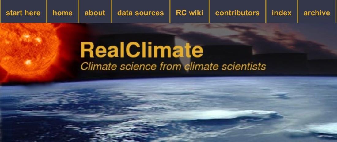 RealClimate - Climate Science from Climate Scientists - Klicka på bilden för länk